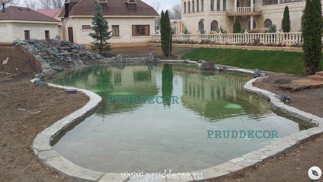 Строительство прудов в Санкт-Петербурге