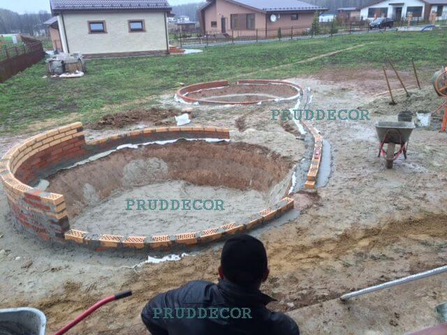 Строительство пруда в спб