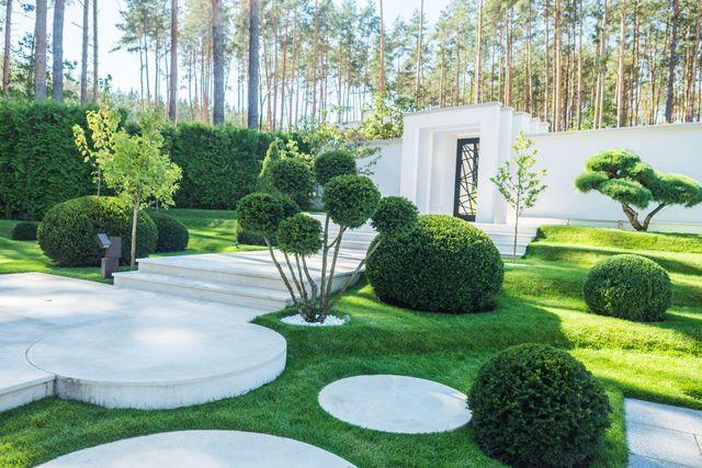 Регулярный стиль в ландшафтном дизайне Санкт-Петербурга